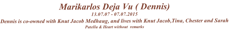 Marikarlos Deja Vu ( Dennis)